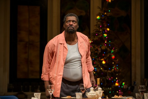 """Eamonn Walker in """"Between Riverside and Crazy"""" at Steppenwolf Theatre Company /Photo: Michael Brosilow"""
