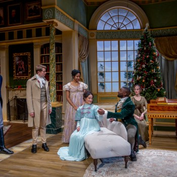 The Cast of Miss Bennet: Christmas at Pemberley/Photo: Charles Osgood Photography    Northlight Theatre dress rehearsal for Miss Bennet: Christmas at Pemberley, Wednesday, Nov. 9, 2016. Charles Osgood Photography    Northlight Theatre dress rehearsal for Miss Bennet: Christmas at Pemberley, Wednesday, Nov. 9, 2016. Charles Osgood Photography    Northlight Theatre dress rehearsal for Miss Bennet: Christmas at Pemberley, Wednesday, Nov. 9, 2016. Charles Osgood Photography    Northlight Theatre dress rehearsal for Miss Bennet: Christmas at Pemberley, Wednesday, Nov. 9, 2016. Charles Osgood Photography