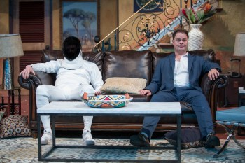 Fake It 'Til You Break It: A Review of The Doppelgänger (an international farce) at Steppenwolf Theatre Company