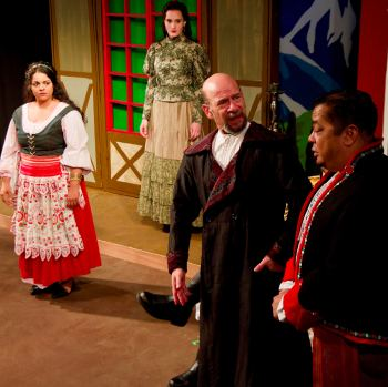 War and Love: A Review of Arms and the Man at City Lit Theater