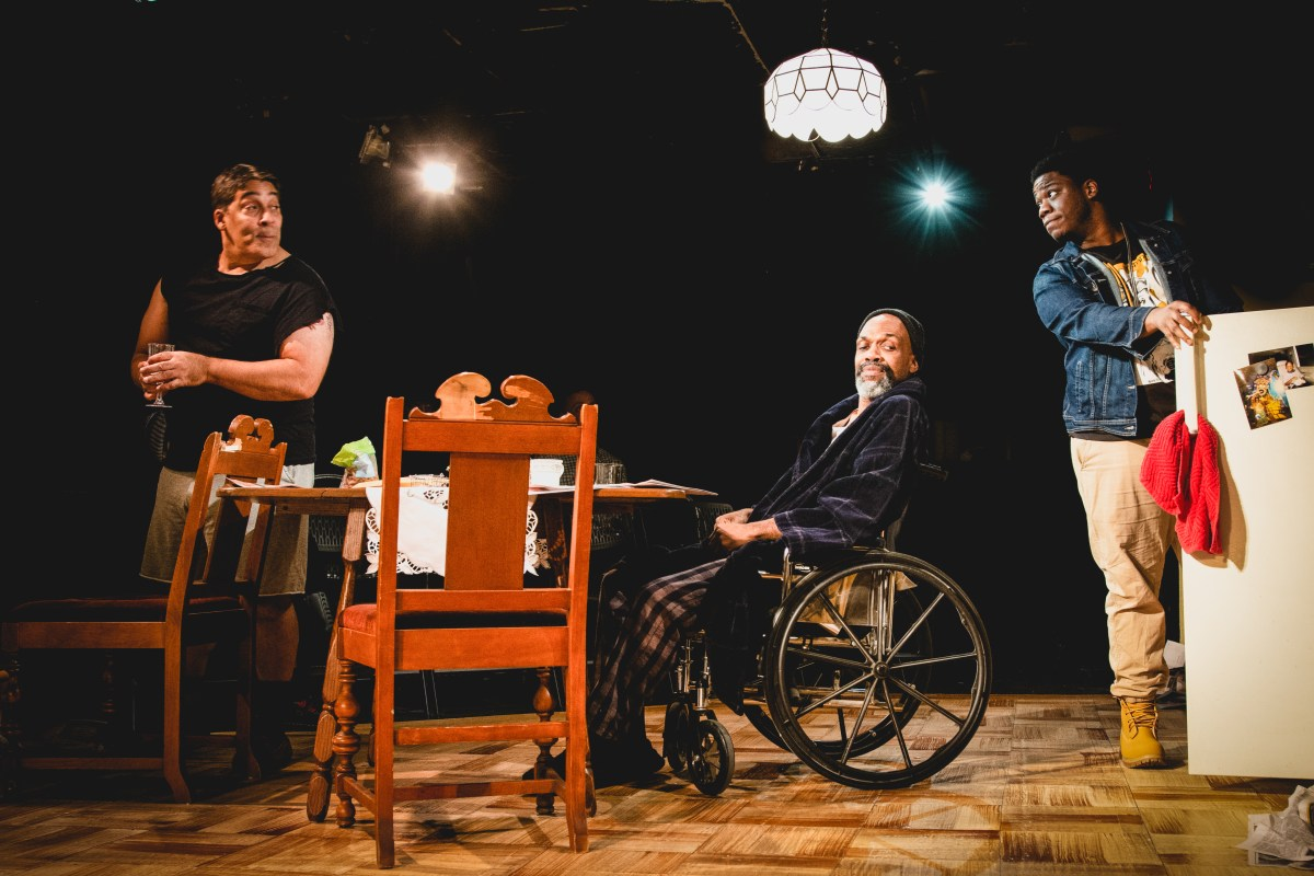 As American As Pie and Whiskey: A Review of Between Riverside and Crazy at Redtwist Theatre