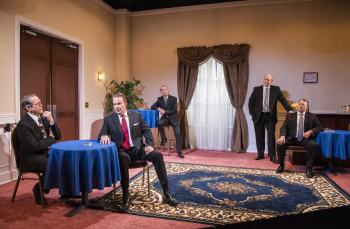Scandal-less: A Review of Five Presidents at American Blues Theater