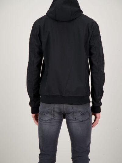 Airforce jas softshell achterkant