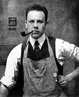 Portrait Paul Strand par Alfred Stieglitz en 1917