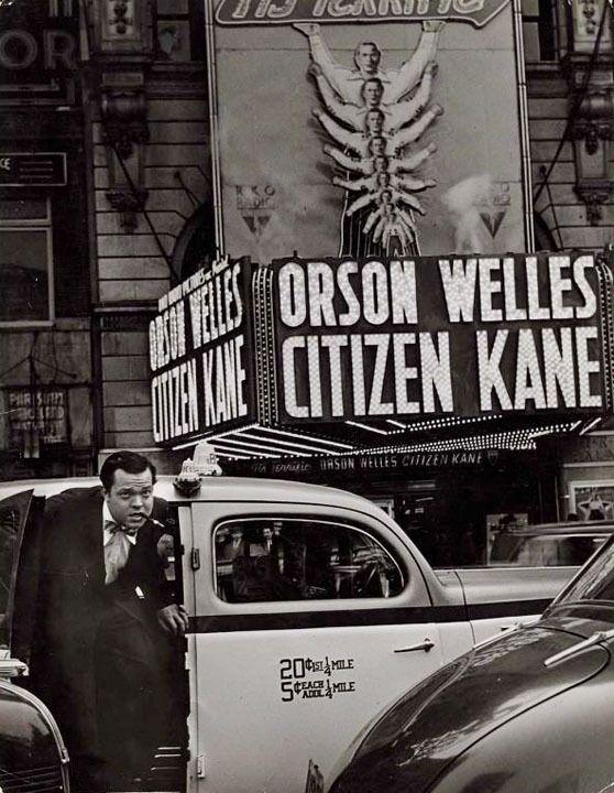 Orson Welles-Citizen Kane, 1941 -by W. Eugene Smith