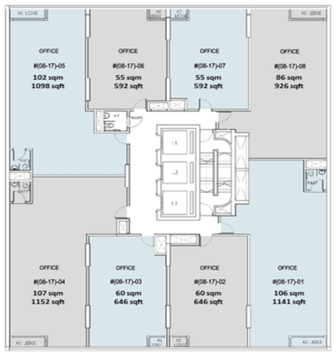 Crown @ Robinson - Floor Plan