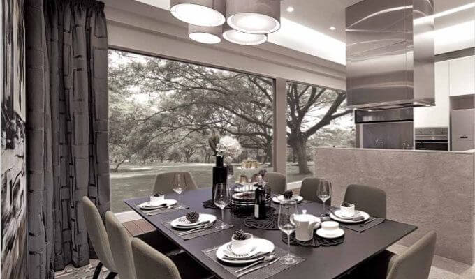 The Whitley Residences Dining Room