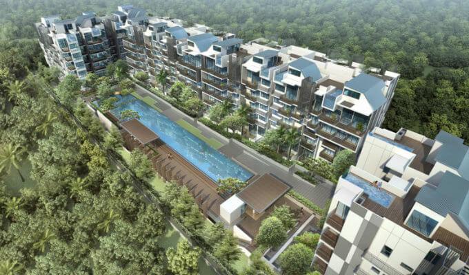 Condo Singapore - Jade Residences - Facade