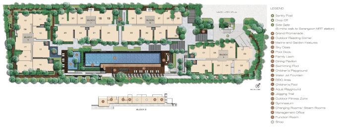 New Condo Launch - Jade Residences - Site Plan