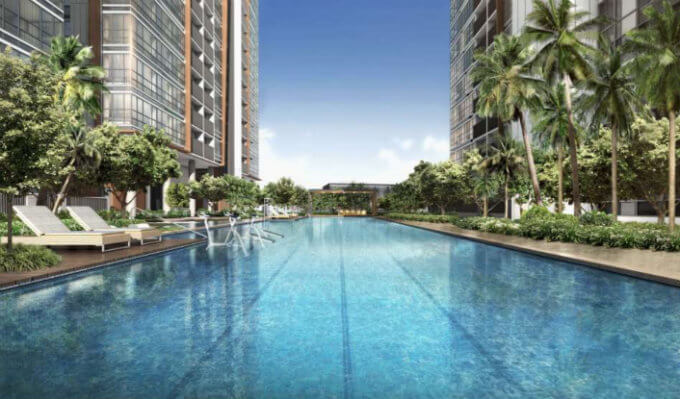 New Launch Condo - Coco Palms - Pool