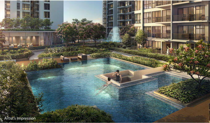 New Launch - North Park Residences - Alfresco Cove