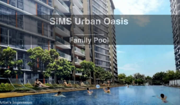 New Launches - Sims Urban Oasis - Family Pool