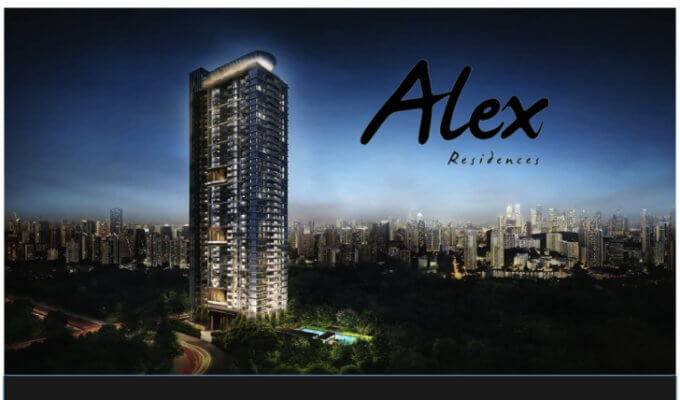 Singapore Condominium - Alex Residences - Facade