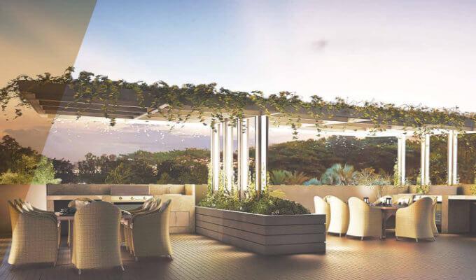 Singapore Condominium - Liv On Wilkie - Dining Pavilion