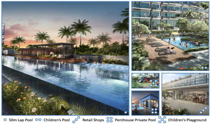Singapore Property - Jade Residences - Facilities
