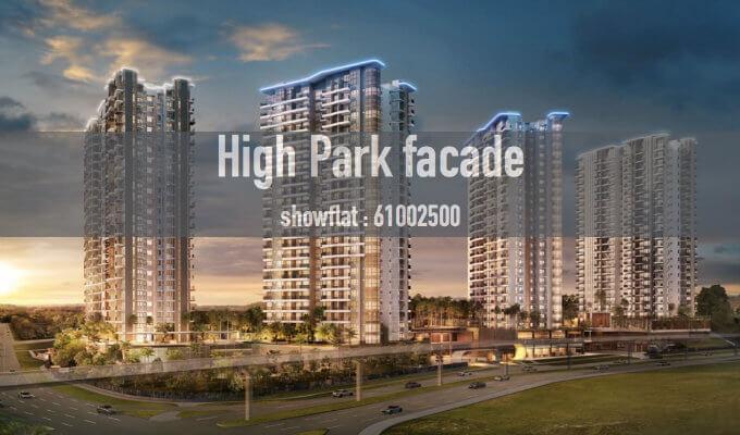 High Park Residences - Facade of Dusk