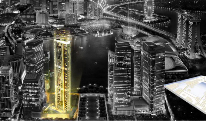 Marina Bay Suites - Outstanding Development at the Bay