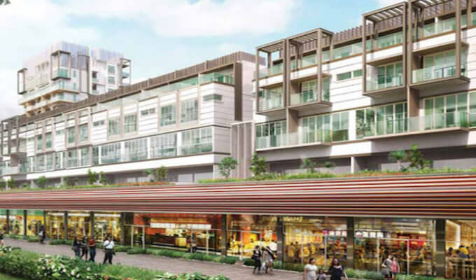 Condo Singapoore - NEWest - Shop Front