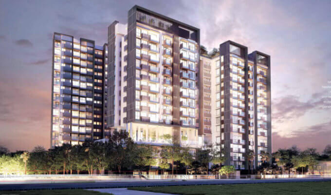 New Condo Launch - Trilive - Facade