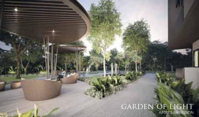 New Launch Condo - Trilive - Facility Garden Of Light