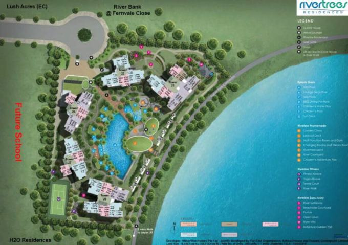 Rivertrees Residences - Site Plan