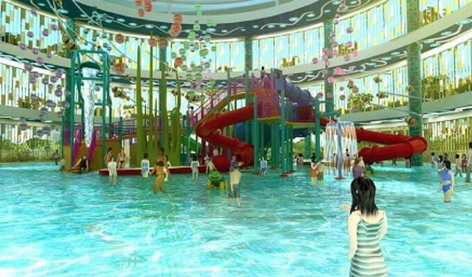 Safra Punggol - Kids Water Slide