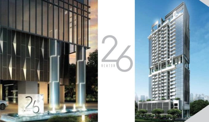 26 Newton - Condo Singapore Freehold - Facade