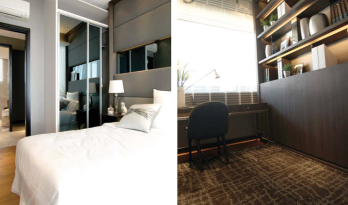 8M Residences - Singapore Condo - Bedroom And Study Room