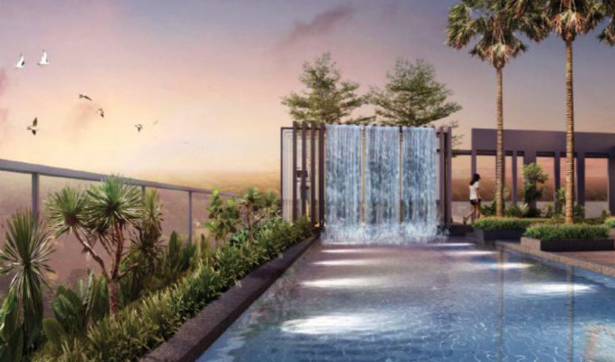 8M Residences - New Launch Condo - Pool