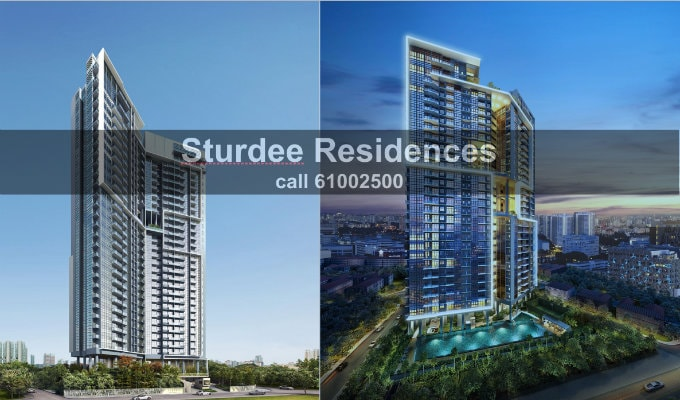 Sturdee Residences - New Condo Singapore - Hero Shot
