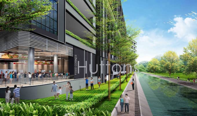 T-Space At Tampines - Industrial New Launch - Canal