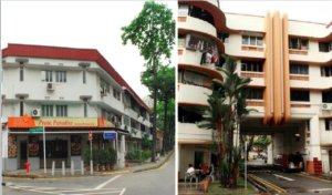 1920s Singapore Improvement Trust Flats