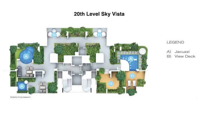 Forte Suites - 20th Level Site Plan - New Launch Condo