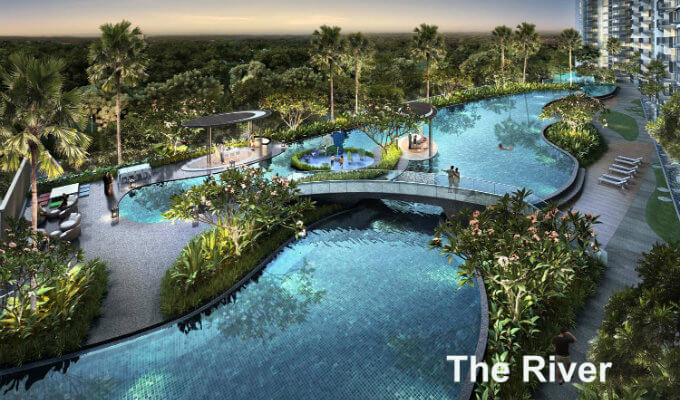 Kingsford Waterbay - The River - Singapore New Launch