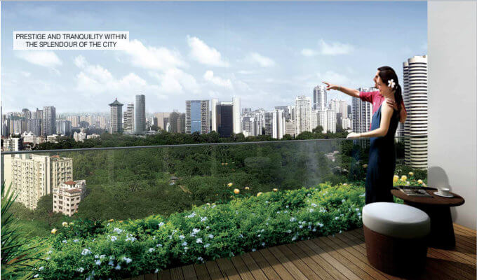 Three Balmoral - Sky Viewing - New Launch Singapore