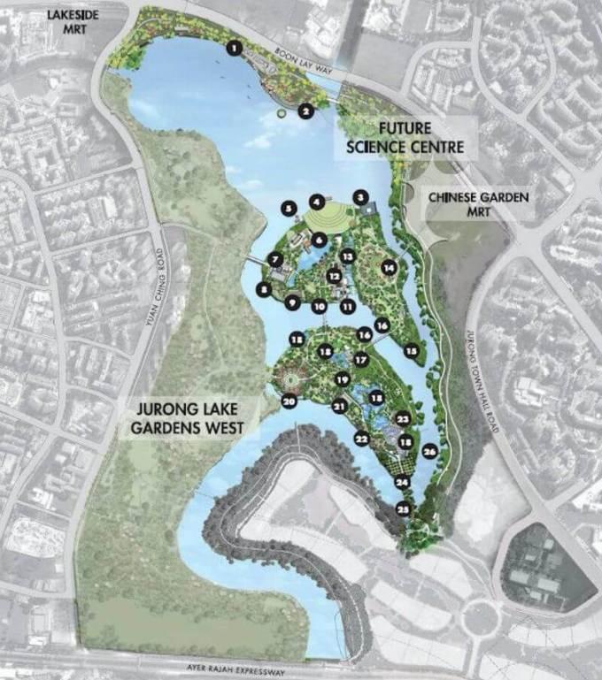 Jurong Lake Gardens Masterplan