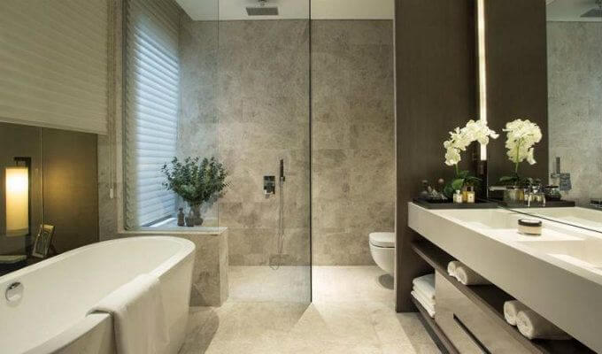Leedon Residence Bathroom