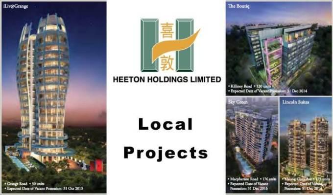 Onze @ Tanjong Pagar Developer Local Projects