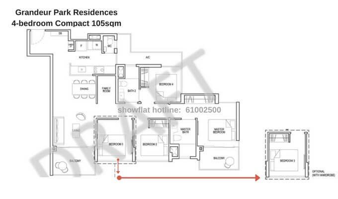 Grandeur Park Residences 4br Compact 105sqm