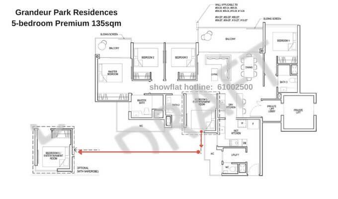 Grandeur Park Residences 5br Premium 135sqm