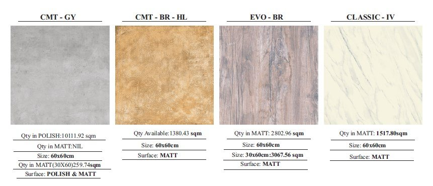 CDK Porcelain Tiles 15