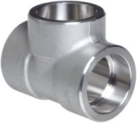 Stainless Steel Socket Weld Tee  NEWCORE GLOBAL PVT. LTD