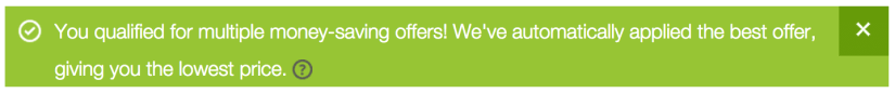 Error in the GoDaddy coupon cache