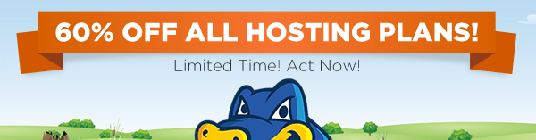 Hostgator Up to 60% Off New Hosting Plans on Jan 2016