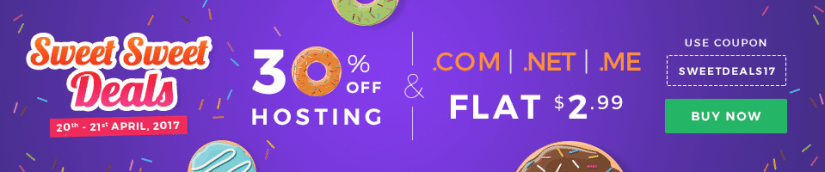 Flash Sale! Grab .COM.NET Domains For Only $2.99, Transfer Available