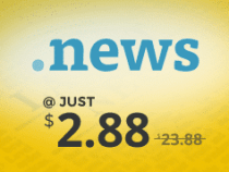 Get .NEWS domain name at just $2.88