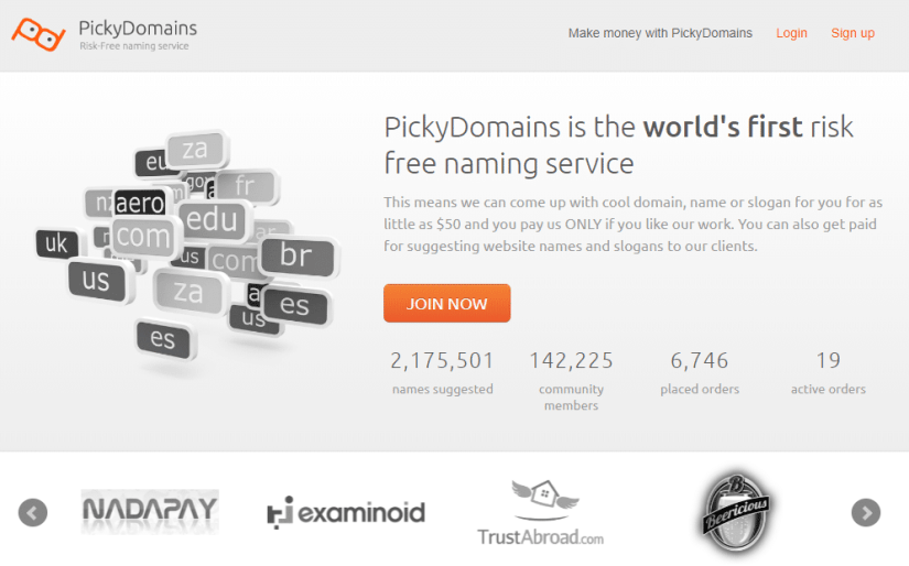 Pickydomains