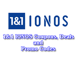 1&1 IONOS Coupons, Deals and Promo Codes For January 2019