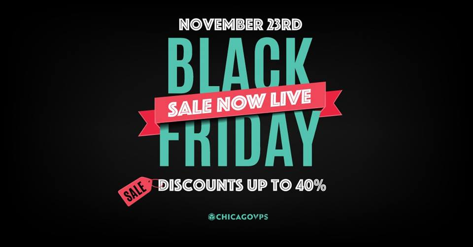 ChicagoVPS Black Friday Discounts Up To 40% » New Coupon