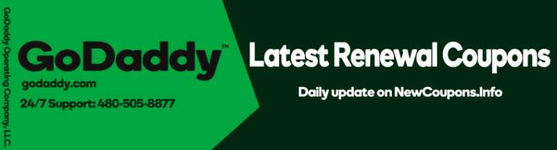 GoDaddy Renewal Coupon & Promo Code November 2019